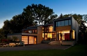 Подборка фото современных частных домов со всего мира из сети Pinterest